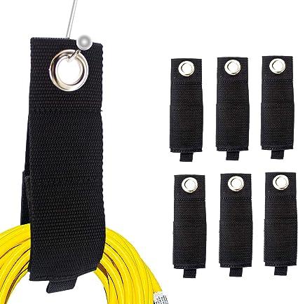 Extension Cord Holder Organizer 8Pack Heavy Duty Storage Straps Fit Garage Hooks