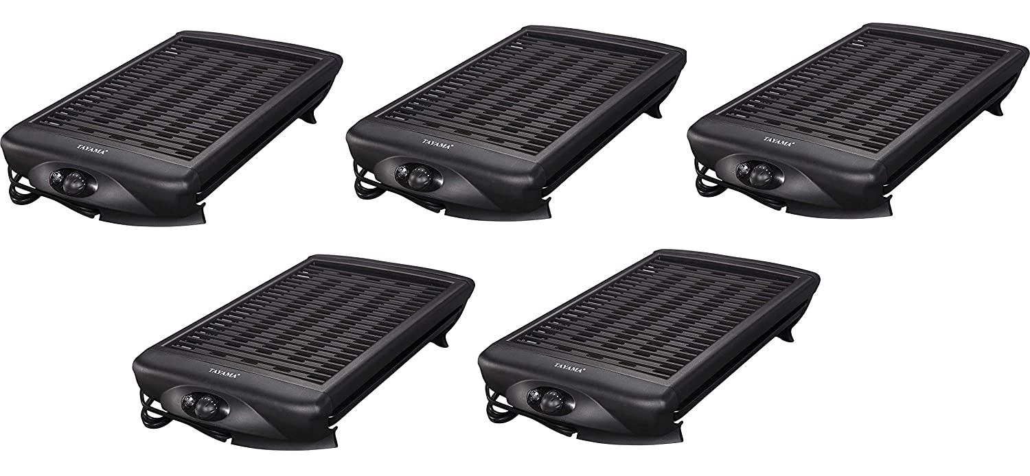 Tayama TG-868 Electric Grill, Black, 15