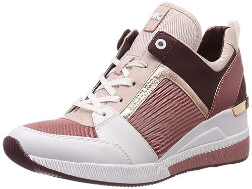 Michael Kors Mkors Georgie Trainer, Zapatillas para Mujer: Amazon.es: Zapatos y complementos