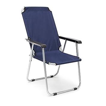 Relaxdays Chaise De Camping Pliante Dimensions HxLxP 92 X 55 75 Cm