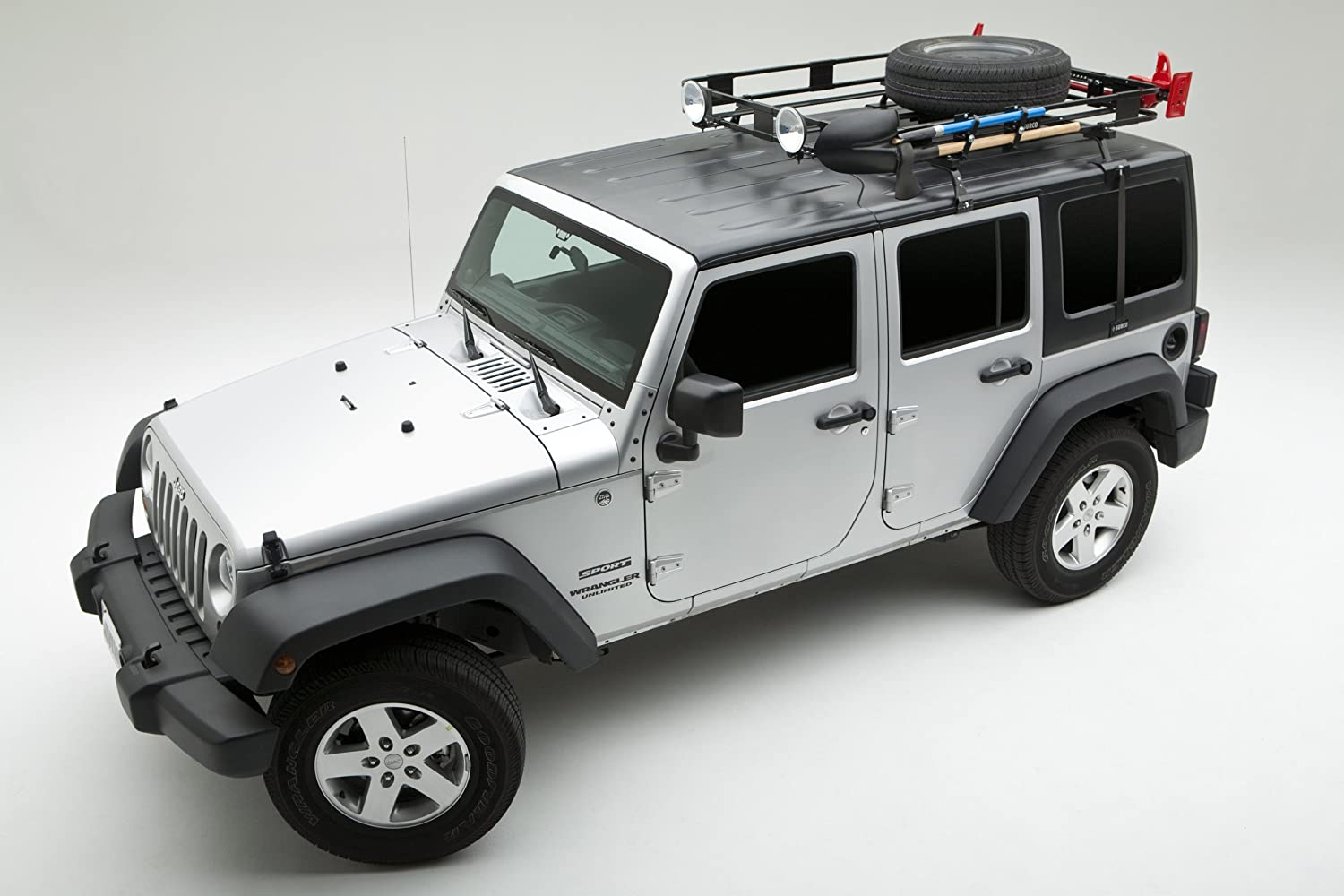 Marvelous Amazon.com: Surco J600 Roof Rack Hard Top Adapter For Jeep JK: Automotive