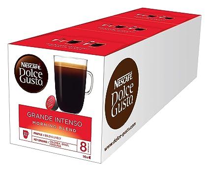 NESCAFÉ Dolce Gusto Grande Intenso Morning Blend, 3er Pack (3 x 16 Kapseln)