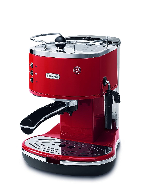 Delonghi ECO310R Icona Pump Espresso Machine, Red 0132106037_Rosso