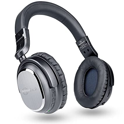 82050a4cd0a Naztech i9 Wireless Active Noise Cancelling 4.1 Bluetooth Headphones with  in-line Microphone Up to