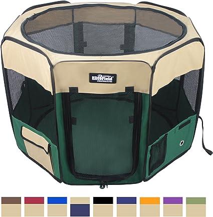 EliteField 2-Door Soft Set Playpen Dog Crate