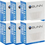 BUNN 8-12 Cup Coffee Filters, 6 each, 100ct