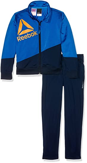 Reebok Children B ES Tric TS Tracksuit Blue Awesom Small  Amazon.co ... 494980de6