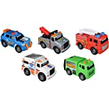 Toy State Mini City Service Vehicles (5 Pack)