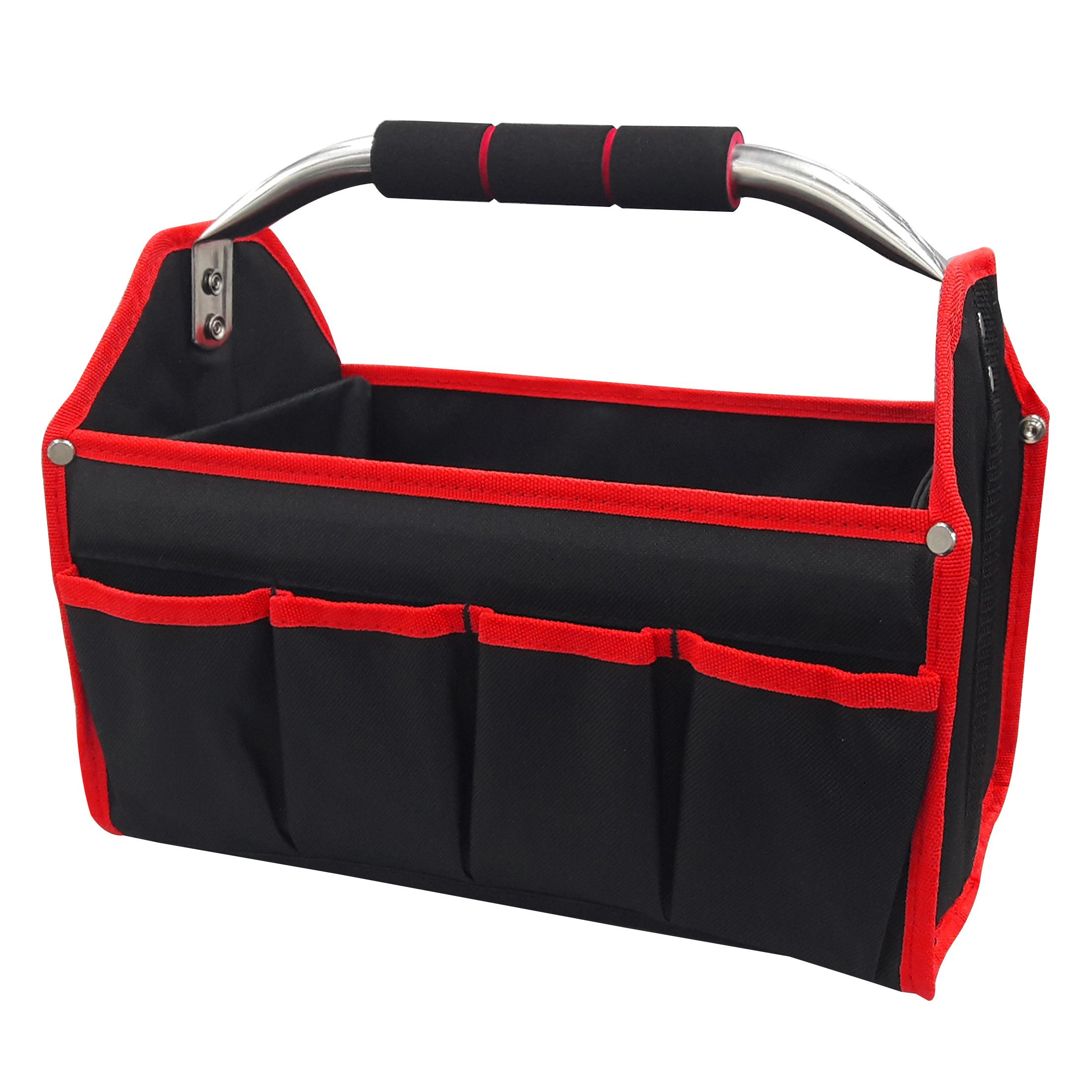HAUTMEC 13'' Open-Top Foldable Tool Tote Bag TB0001