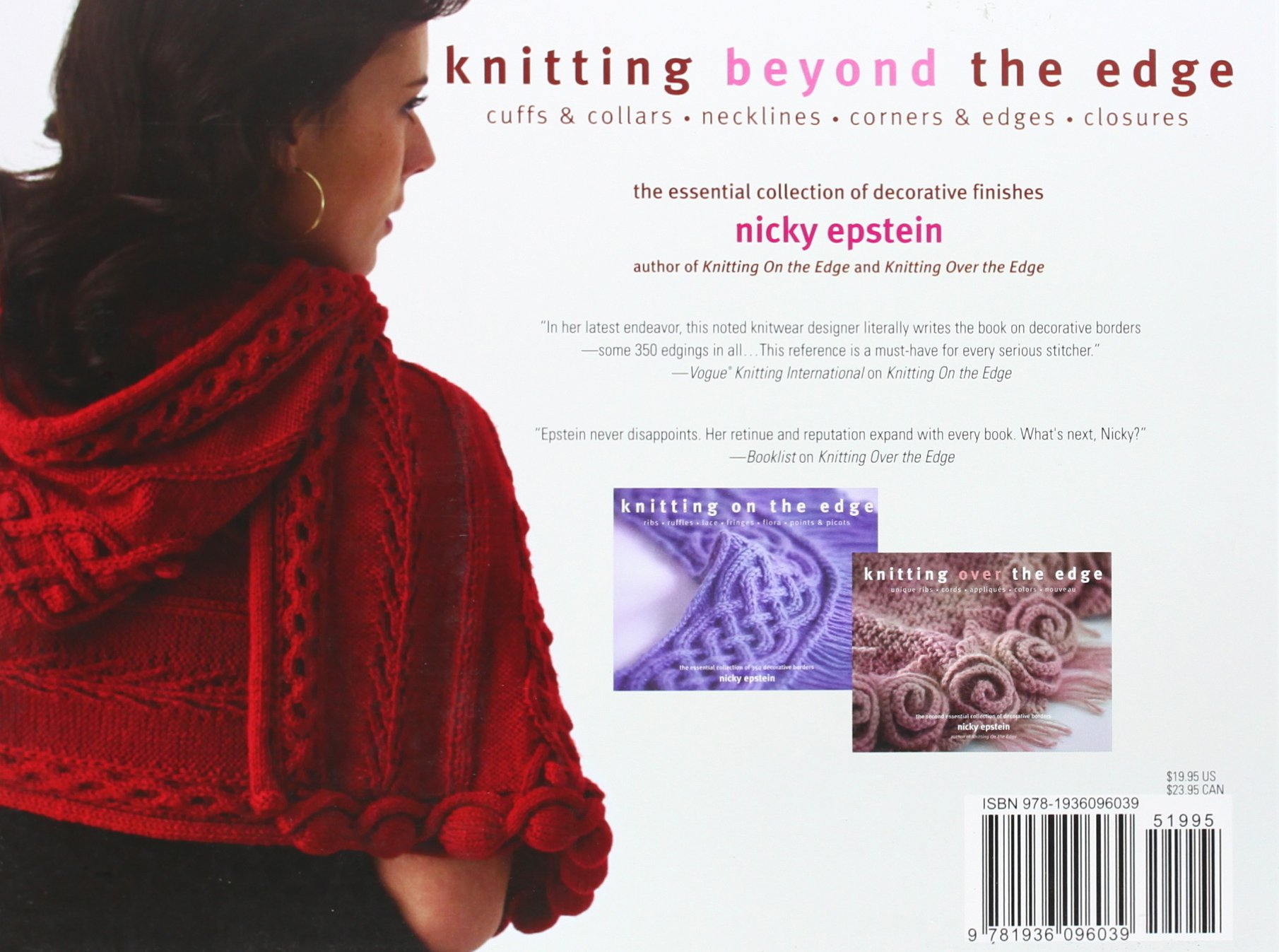 Knitting Beyond the Edge: Cuffs & Collars*Necklines*Corners & Edges ...