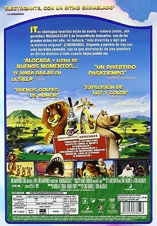 Amazon.com: Madagascar 2: Escape África (Import Movie) (European Format - Zone 2) (2009) Cedric The Entertainer; Chris: Movies & TV