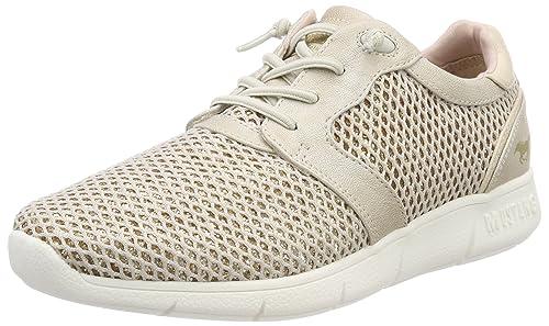 Mustang 1242-402-4, Zapatillas Sin Cordones Para Mujer, Beige, 41 EU: Amazon.es: Zapatos y complementos
