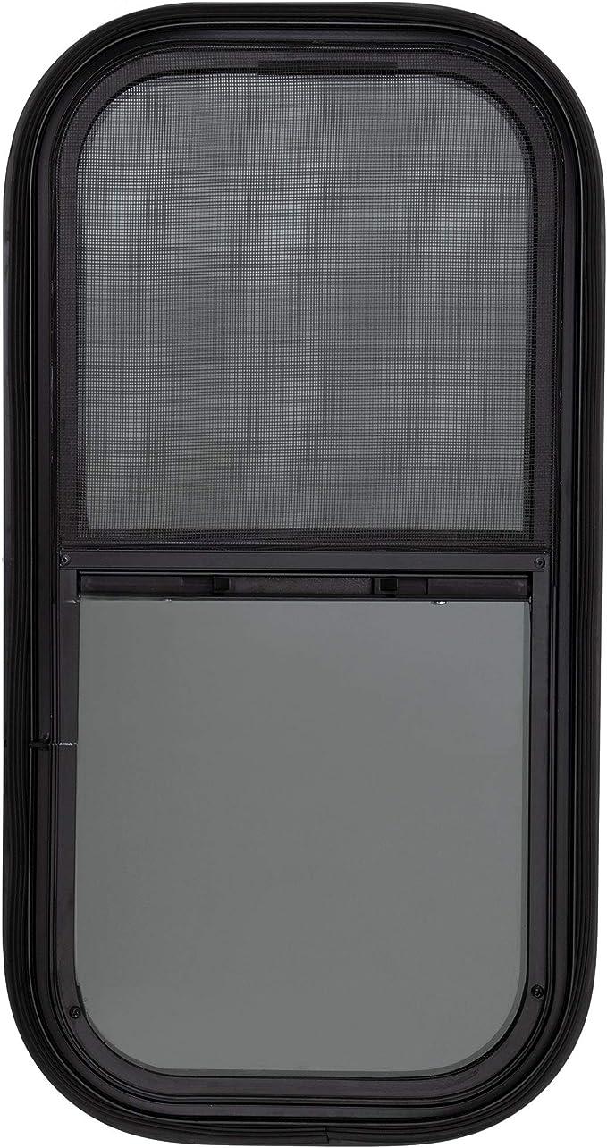 RecPro RV Window Teardrop Vertical Slide