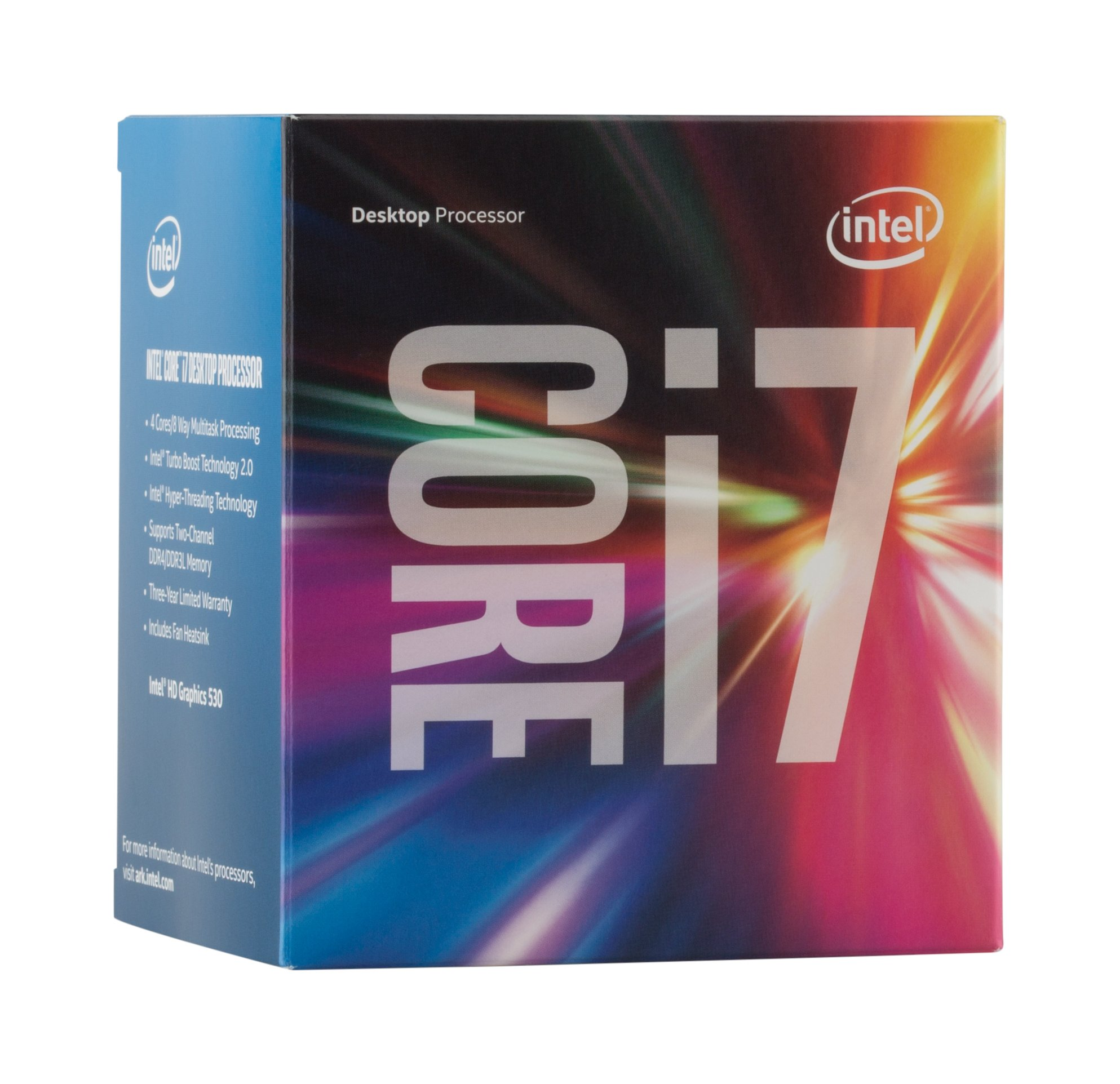 Intel Boxed Core I7-6700 FC-LGA14C 3.40 GHz 8 M Cache 4 LGA