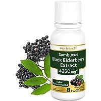 Sambucus Black Elderberry Extract 4250mg | 8 oz | Super Concentrated Liquid Supplement | Non-GMO, Gluten Free | by…