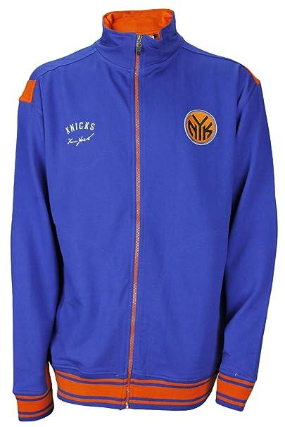 New York Knicks de la NBA juventud sudadera con cremallera, color azul: Amazon.es: Ropa y accesorios