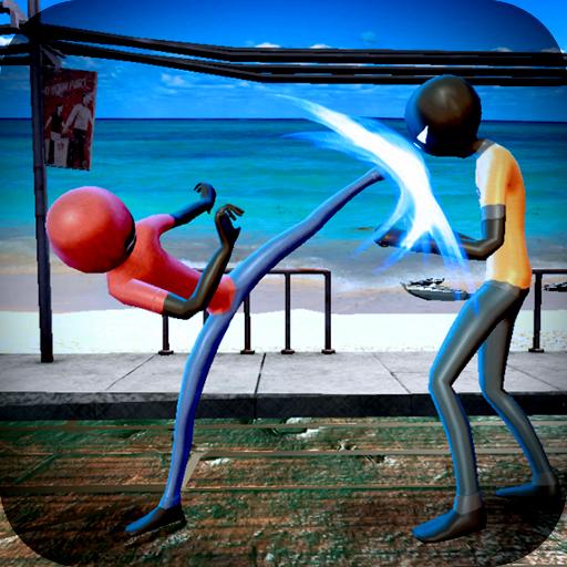 Super KungFu Battle :  Stickman Street Fighter War