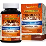 Organic Turmeric Curcumin with BioPerine and 95% Curcuminoids, 1660mg, 180 Veggie Capsules