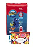 Amazon Price History for:Huggies Little Swimmers Disposable Swim Diapers, Swimpants, Size 5-6 Large (over 32 lb.), 17 Ct, with Huggies Wipes Clutch 'N' Clean Bonus Pack (Packaging May Vary)