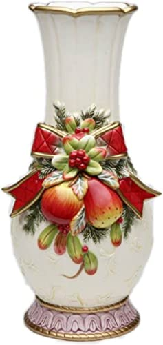 Cosmos Gifts 10547 Victorian Harvest Vase, 13-1 8-Inch
