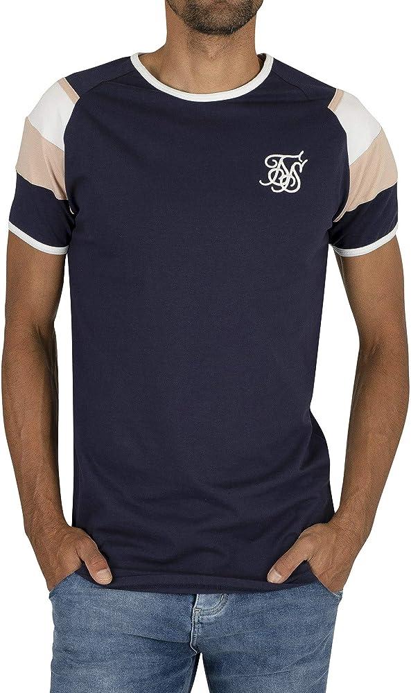 Sik Silk Hombre Sprint Gym Camiseta, Azul, XS: Amazon.es: Ropa y accesorios