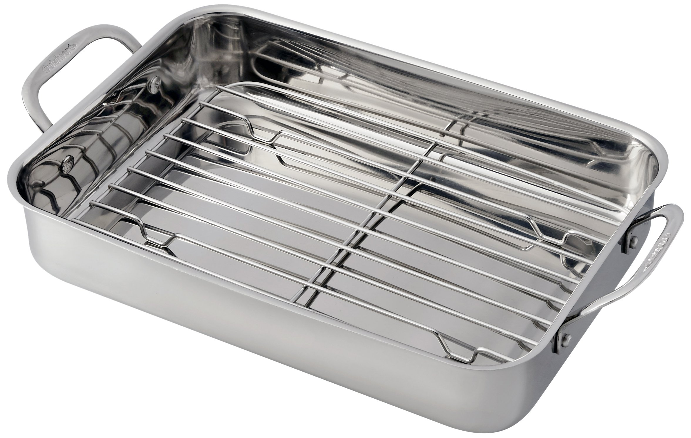 Cuisinart 7117-14RR Lasagna Pan with Stainless Roasting Rack by Cuisinart