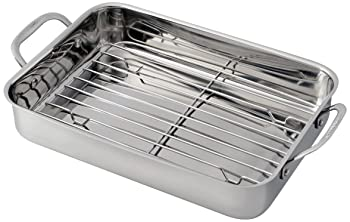 Cuisinart 7117 -14RR Stainless Steel Roasting Rack Lasagna Pan