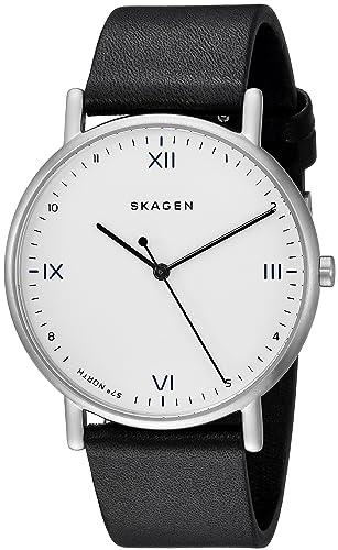 Skagen Reloj Analogico para Hombre de Cuarzo con Correa en Cuero SKW6412: Amazon.es: Relojes
