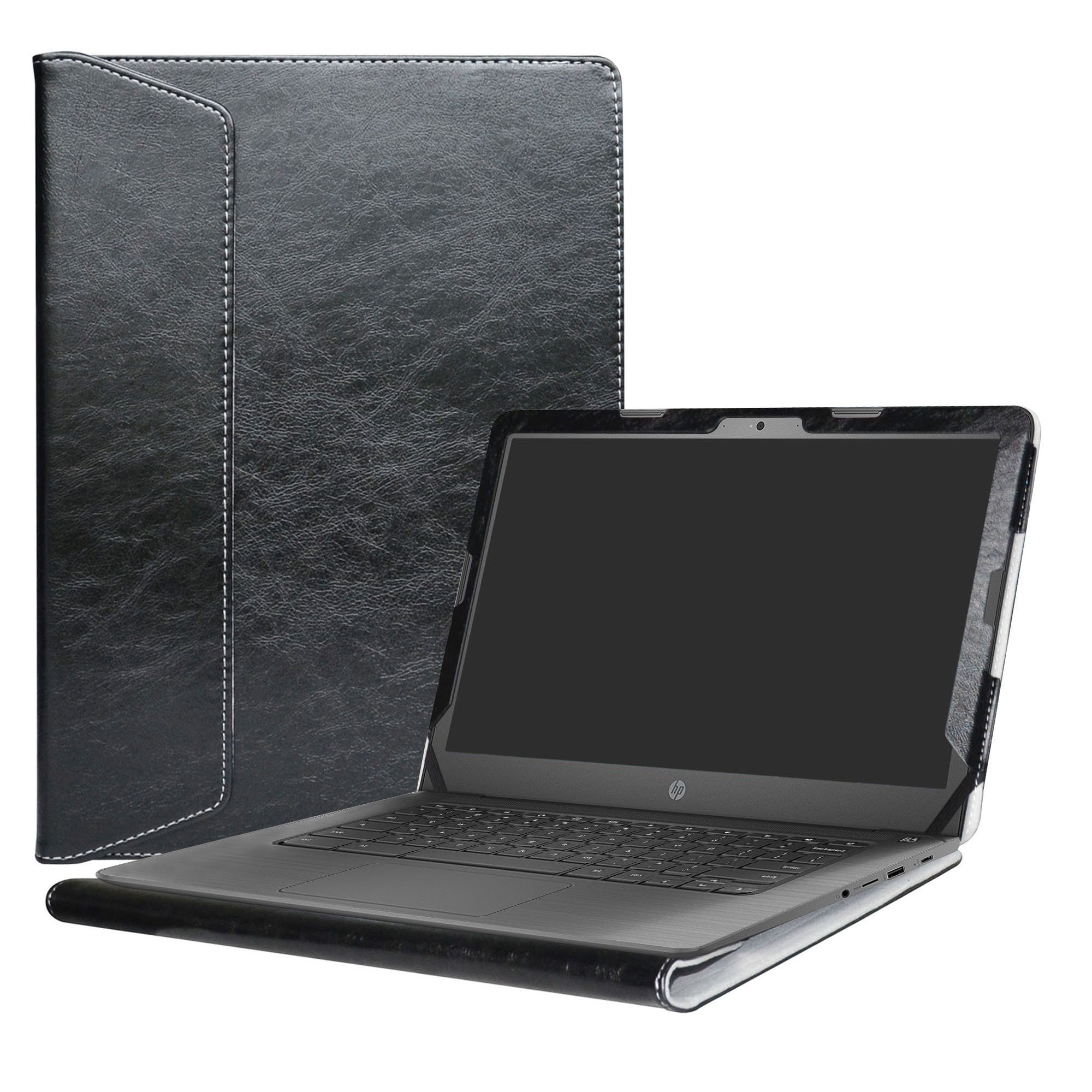 Alapmk Protective Case Cover For 14'' HP Notebook 14-bsXXX (Such as 14-bs153od)/14-bwXXX (Such as 14-bw010nr)/HP 240 G6/HP 245 G6/HP 246 G6 Laptop(Not fit 14-anXXX 14-amXXX 14-cmXXX Series),Black