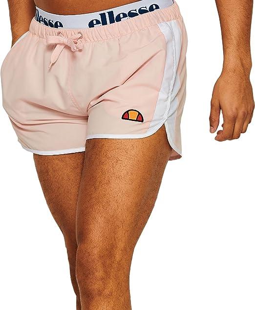 Ellesse Hombre Nasello Swim Shorts, Rosado