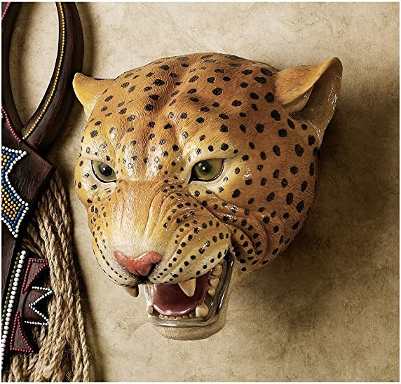 Artistic Solutions 10 African Wildlife Leopard Wall Sculpture Statue D cor