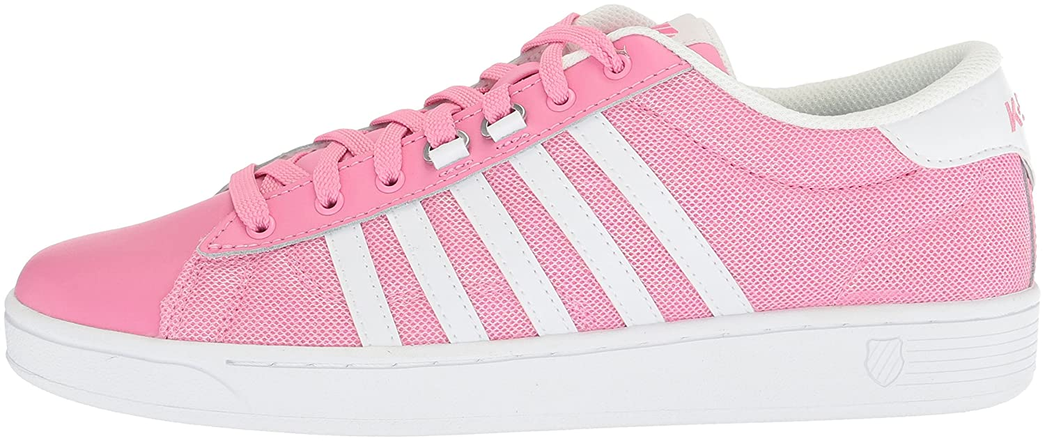 K-Swiss Women's Hoke T CMF Fashion Sneaker B073WYG6TQ 5 B(M) US|Aroura Pink/White