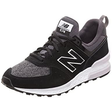 buy online 78c2a 94197 Amazon.com: New Balance 574 Sport Womens Sneakers Black ...