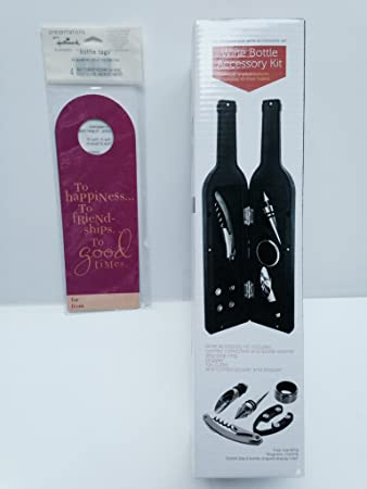 Amazoncom Wine Accessory Kit Corkscrew Bottle Opener Foil