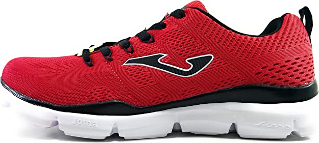 Joma C.Zen Zapatillas para Hombre Memory Foam Rojas: Amazon.es: Zapatos y complementos