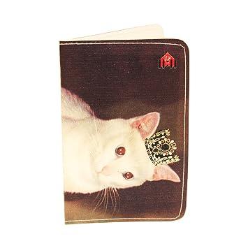 Porte Cartes Royal White Princesse Chat Pour De Visite Et Bancaires