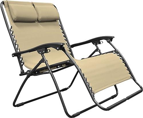 Caravan Canopy Sports Zero Gravity Chair Loveseat