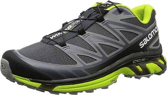 SalomonWings Pro - Zapatillas de Running para Asfalto Hombre, Color Gris, Talla 40.7: Amazon.es: Zapatos y complementos
