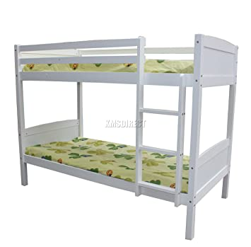 Westwood 3ft Bunk Bed Wooden Frame Children Sleeper No Mattress