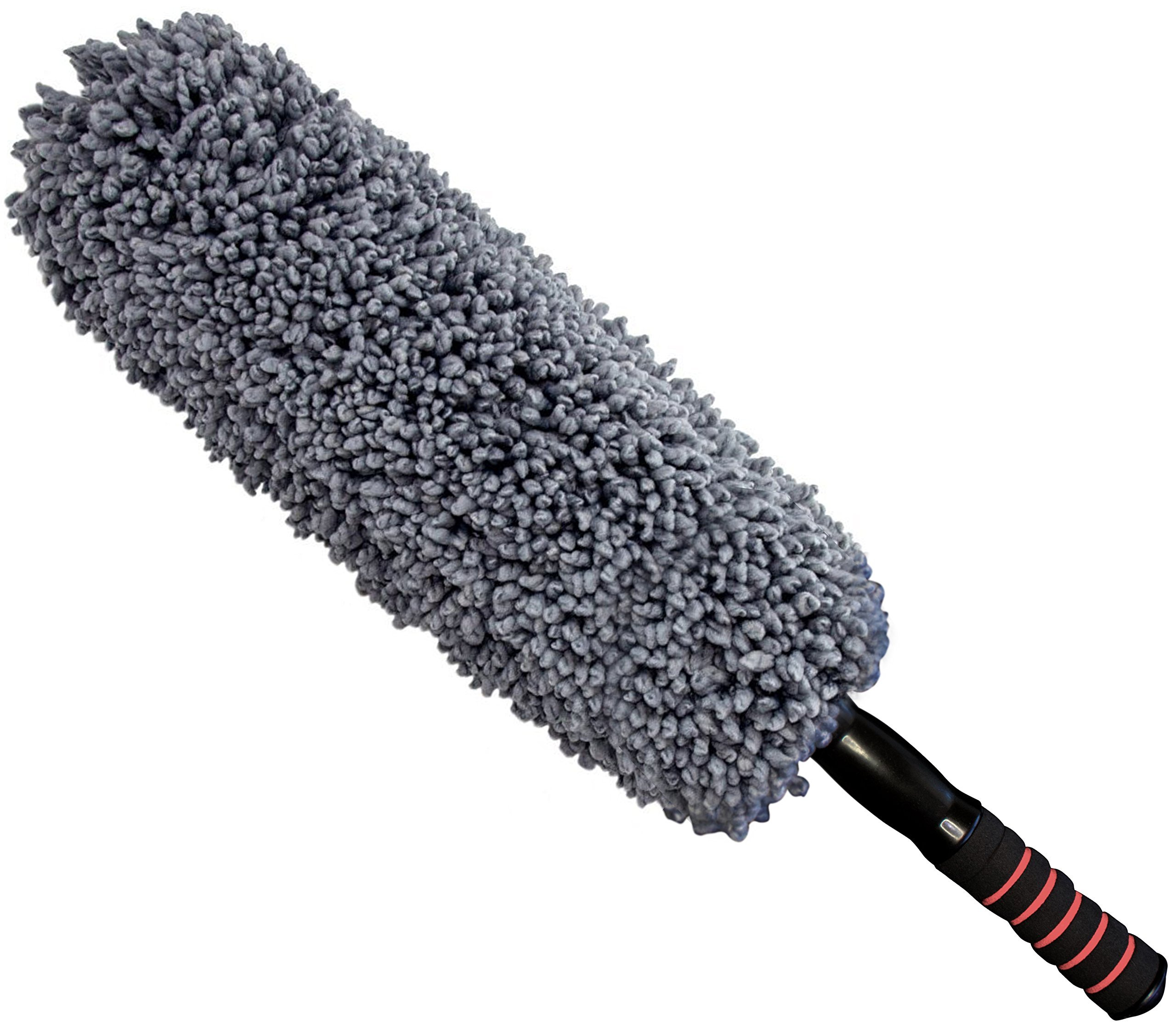 Ultra Premium Car Duster - Better Than The California Duster - Long Extendable Handle - No Wax Streaks Left Behind by Prestige Auto Care (Image #2)