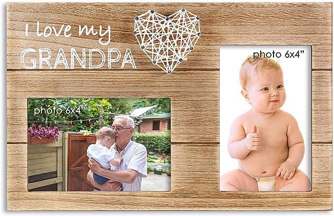 I Love My Grandpa Picture Frame
