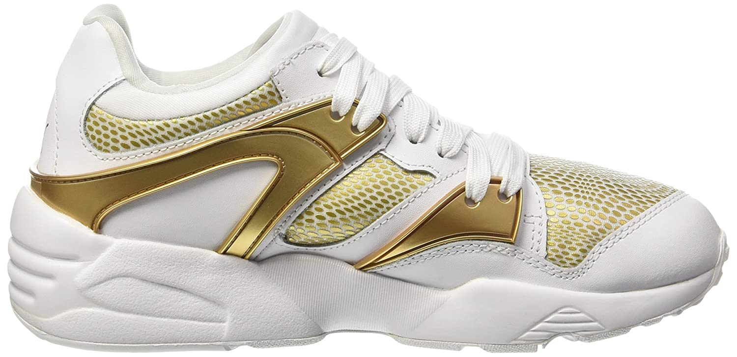 Blaze Blanc Puma Mode Gold Baskets PZTuiXwOk