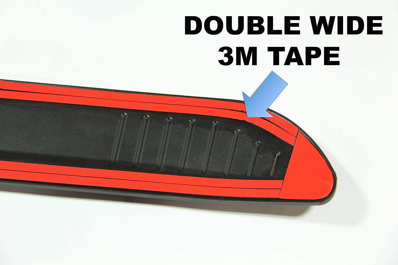 53 HEAVY DUTY EDITION Stick On Rear Bumper Protection - MADE IN EUROPE BumpTek RP-53HD -