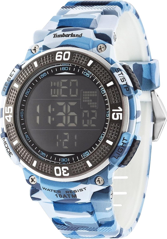 Timberland Reloj para Hombre de con Correa en Silicona 13554JPBL/02