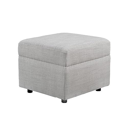 Cheap Karla Dubois Soho Ottoman Grey ottoman chair for sale
