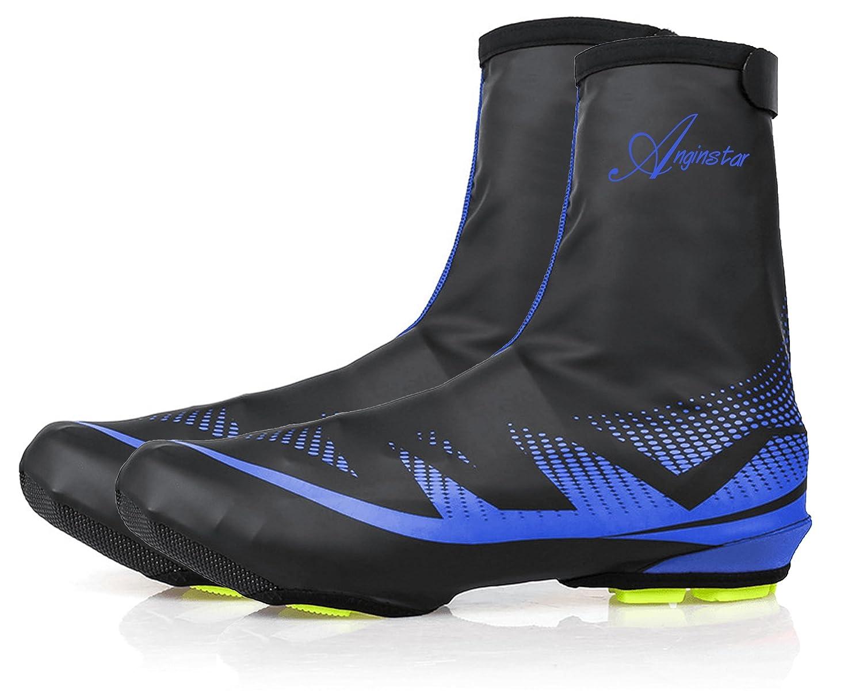 Shinmax Couvre-Chaussures, Sports de Plein air Couvre-Chaussures de Vélo Couvre-Chaussures Imperméables, Chauffe-Chaussures Couvre-Chaussures pour Les Cyclistes Sports de Plein air Couvre-Chaussures de Vélo Couvre-Chaussures Imperméables