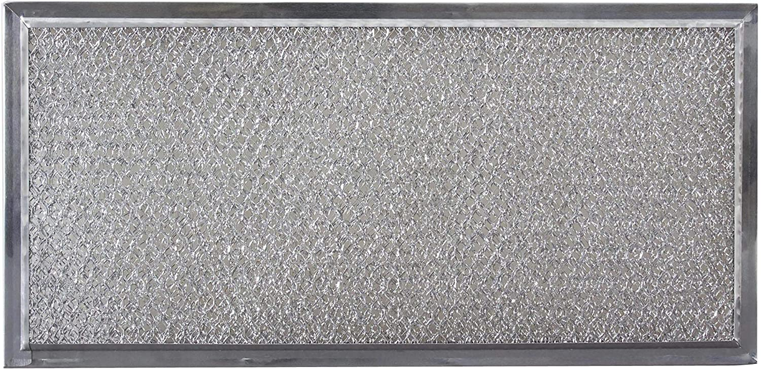 Whirlpool W10120839A Over-The-Range Microwave Grease Filter, Grey