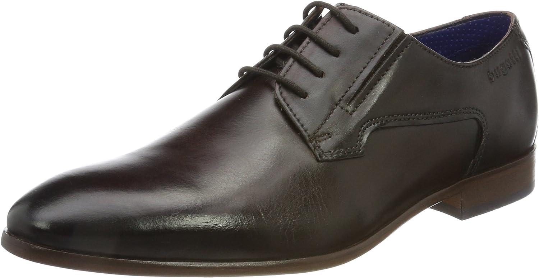 TALLA 42 EU. bugatti 312419011100, Zapatos de Cordones Derby para Hombre