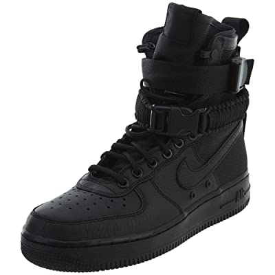 Nike SF Air Force 1 Women's Boots Black/Black/Black 857872-002 (10.5 B(M) US) | Boots