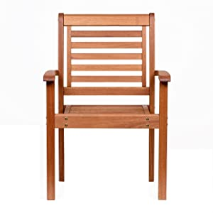 Amazonia Stackable Eucalyptus Chair